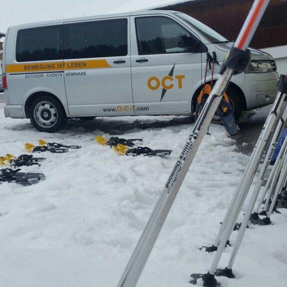 #schneeschuhwanderung mit OCT www.o-c-t.com abteneuerpark-planai.at