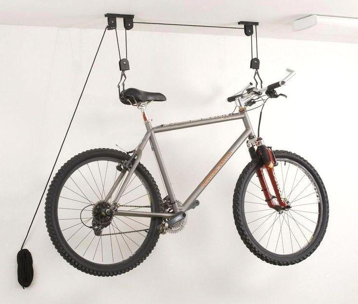 Bicycle Bike Cycling Wall Mount Hook Hanger Garage Storage Holder Rack Stand