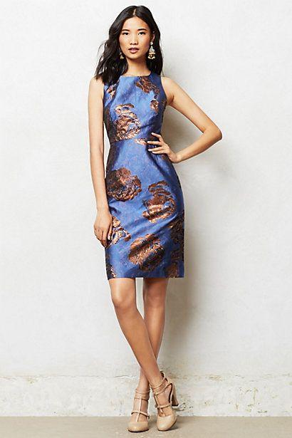 Flora Gleam Dress #anthropologie