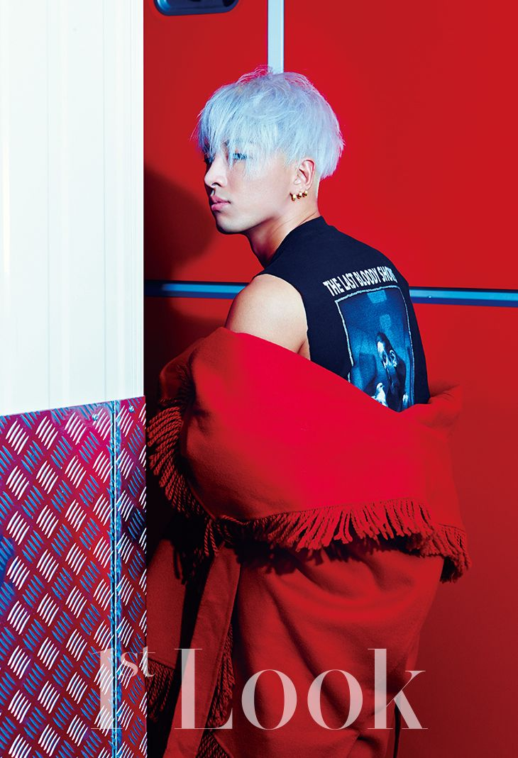 Tae Yang - 1st Look Magazine Vol.72