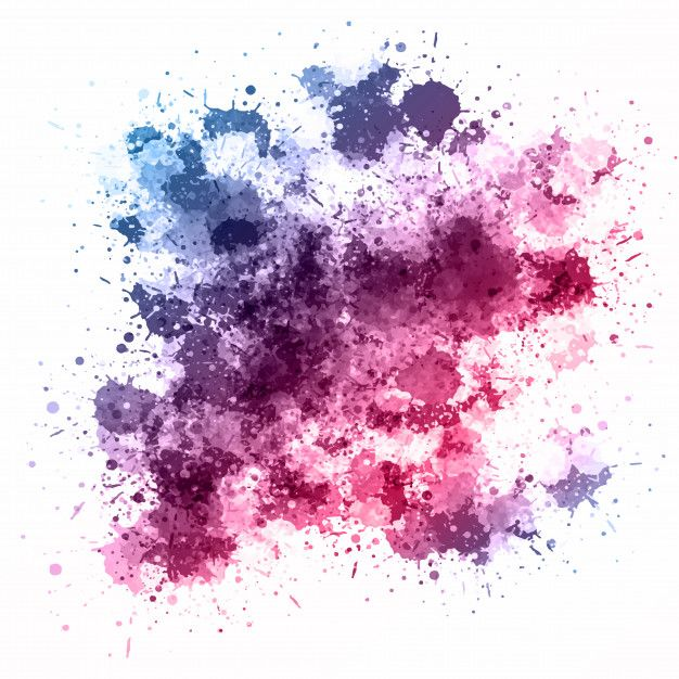 Download Watercolour Splatter Background For Free In 2020
