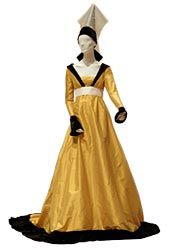 14th century France gown.