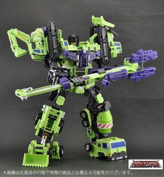 Devastator - Constructicons - Make Toys - Transformers