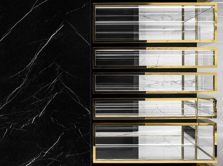 YSL Store Display   Bookcase Inspiration