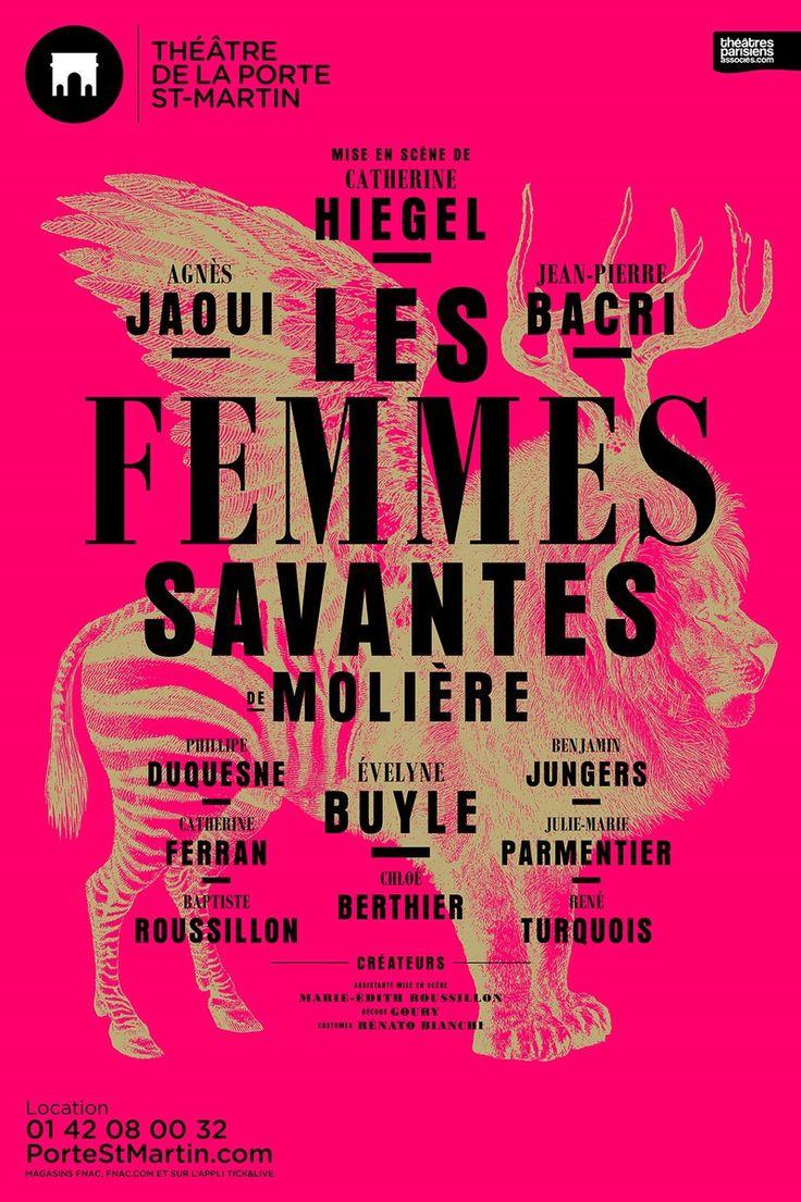 Les femmes savantes au Théâtre de la Porte Saint-Martin