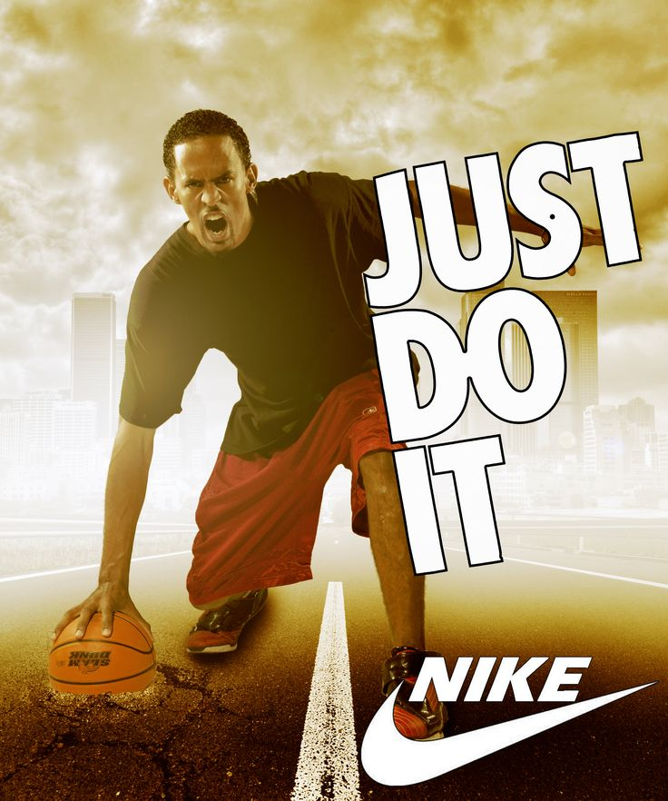 Nike Poster Mockup