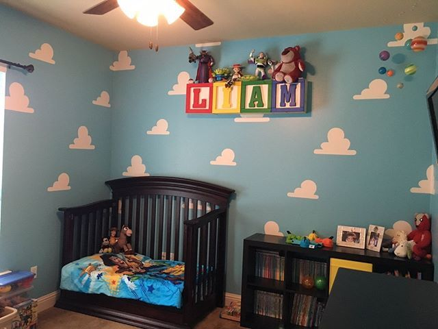 Love Seeing How Customers Take Our Toy Story Room And Make It