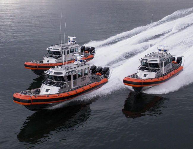 Used Coast Guard Inflatable Boats