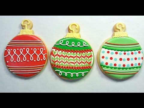 Flour Box Bakery — Day 2 of Cookie Videos: How to Decorate an Ornament Cookie
