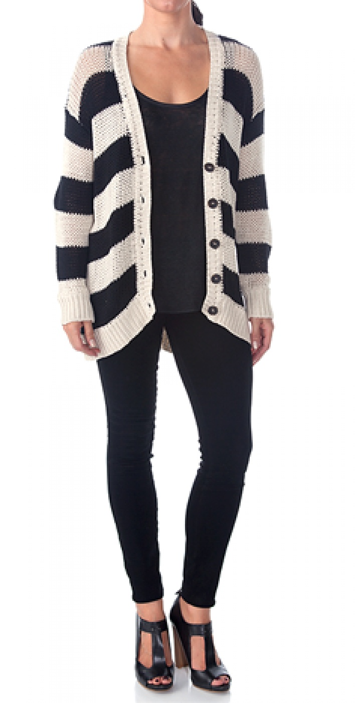 Bandit Slouch Cardigan Love the cardigan and legging not a fan wit of the shoes