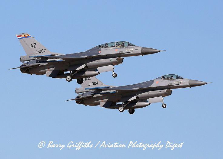 https://flic.kr/p/22bS5p3   DUTCH TWO SHIP: General Dynamics F-16BM & AM Fighting Falcons 87-0067 & 88-0004 J-0067 & J-004 Royal Netherlands Air Force   DUTCH TWO SHIP: General Dynamics F-16BM & AM Fighting Falcons 87-0067 & 88-0004 J-0067 & J-004 Royal Netherlands Air Force @ Tucson IA (KTUS), AZ