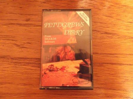 Pettigrews Diary for the Acorn Electron.  Cassette Version.