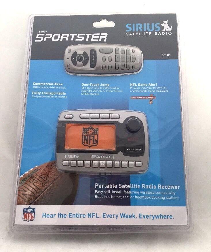 ***SOLD***Sirius Sportster Satellite Radio SP-R1 NEW  #Sirius