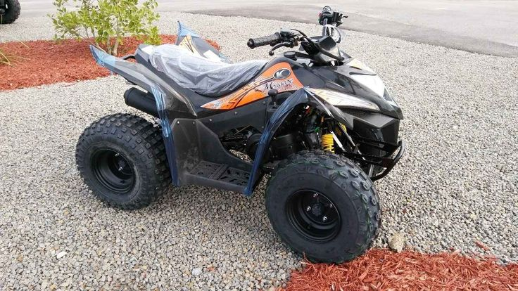 New 2017 Kymco MONGOOSE 90 ATVs For Sale in Texas. With street cred owed to its competitive successes in the Grand National Cross Country series and ATV motocross series, the Mongoose 90S is a youth-sized sport quad with an attitude. Powered by an air-cooled, 89cc engine, the Mongoose 90S rides big with power routed through KYMCO's popular CVT automatic transmission. Front drum brakes and rear discs provide the stopping power and ride stabilization comes from single A-arm front suspension…