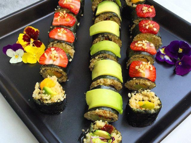 Sushi rolls di quinoa – Vegan blog – Ricette Vegan – Vegane – Cruelty Free