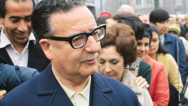 Image result for Death of Salvador Allende