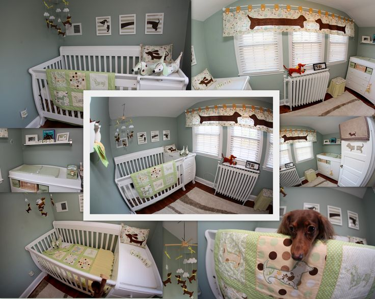 16 Best Dachshund Nursery Images On Pinterest Child