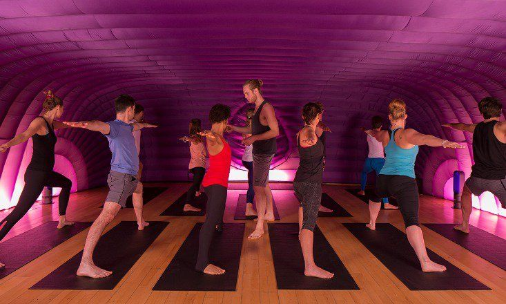 Are you the ultimate adventurous yogi? Then check out these 10 unusual yoga classes! From the ultimate stop, drop, and yoga, to Doga, try something new!