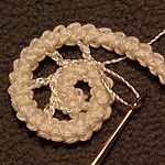 Design & crochet lace by Victoria Belvet