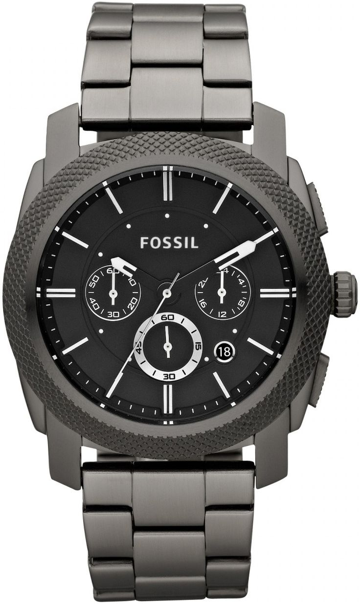 Fossil Men's FS4662 Stainless Steel Analog Black Dial Watch  2nd FAVORITE WATCH :)
