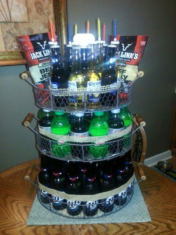 Happy Birthday Beer Cake Holidays Brownie Cake Food