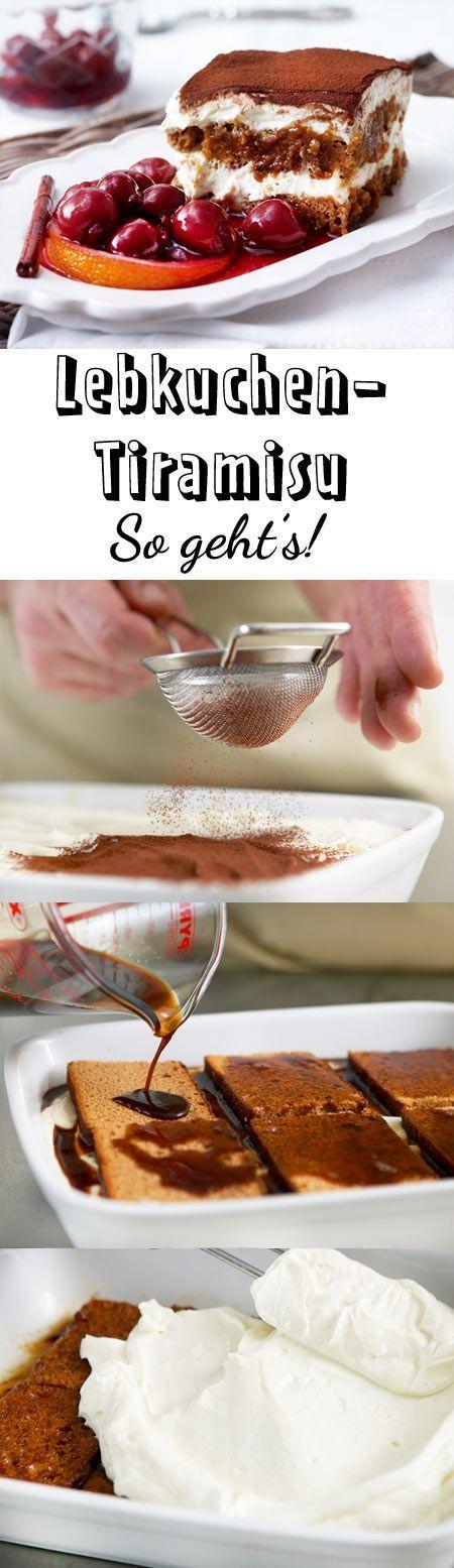 Den Dessert-Klassiker Tiramisu servieren wir hier in der weihnachtlichen Variante als Lebkuchen-Tiramisu. Das perfekte Weihnachts-Dessert!