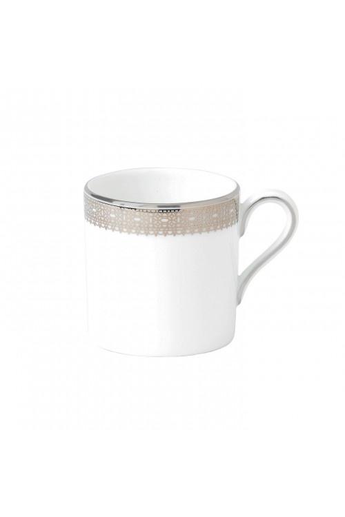 Vera Wang Lace Platinum Coffee Cup #VWW