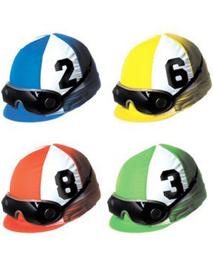 Melbourne Cup Assorted Jockey Helmet Cutouts