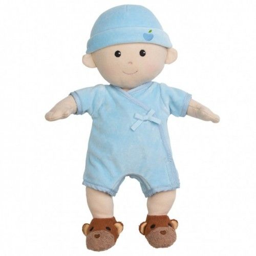 Apple Park -  Boy organic baby doll