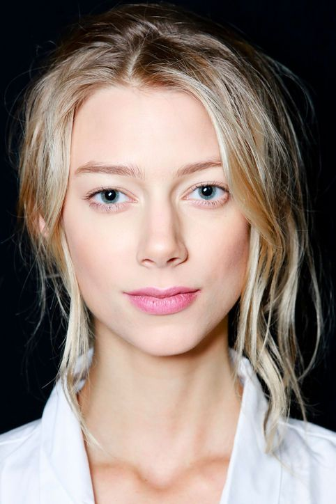 Spring Makeup Trends From Fashion Week Spring 2014: Beauty: glamour.com Spring Makeup Trend: Soft Berry Lips