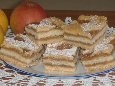 moje záľuby...: Jablkový mrežovník