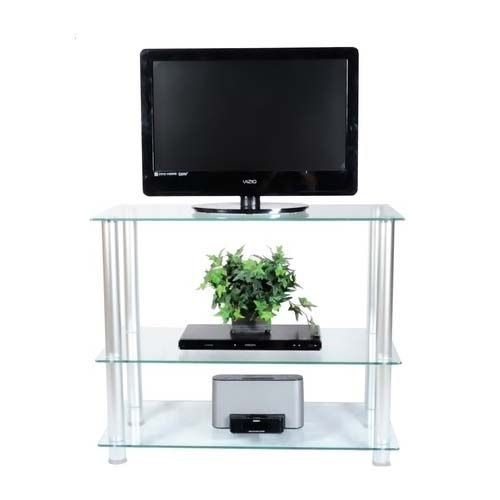 Iron tall tv stand for flat screen also need the treatment to make it durable. With durability, you can use it for a long time and also can be useful for your children future.
