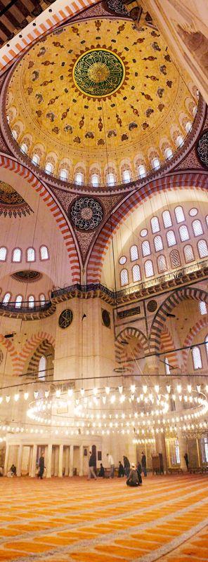 Istanbul, Turkey  Suleymaniye Mosque