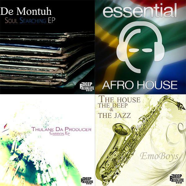 Releases From The Shores Of South Africa, Get Your Copy Of These EP's Titled; Soul Searching EP - De Montuh , Carbon EP - Thulane Da Producer , The House, The Deep & The Jazz EP - EmoBoys SA, Releases Under Deep Resolute Record Label's Just Follow The Link   http://www.traxsource.com/label/13404/deep-resolute-pty-ltd