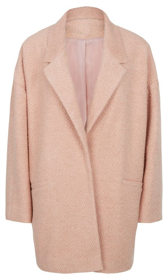 Primark AW13 Collection: Pale Pink Coat, £32 can't wait to buy a coat... Can't believe this is primark!