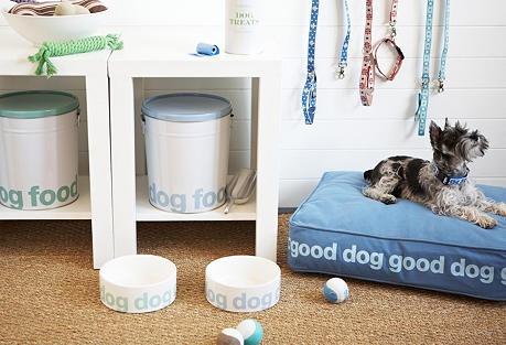 Treat Your Pet on OneKingsLane.com  Cute Dog Bed.