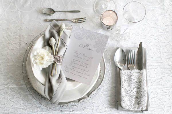 {Inspiration shoot} Matrimonio invernale in bianco e argento