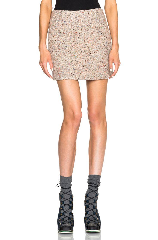 Image 1 of Acne Studios Kyte Trash Skirt in Light Multi