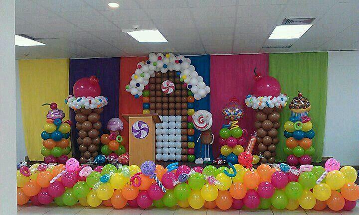 Amaizing candy decor