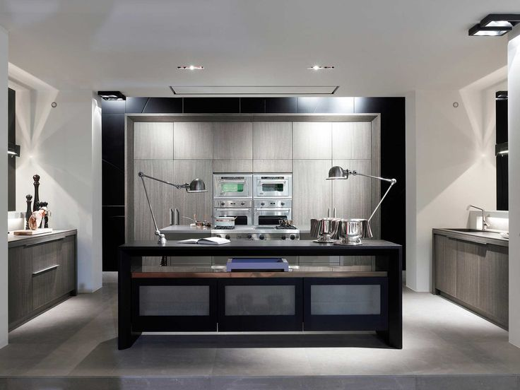 Obumex | Modern Kitchen | Black U0026 White | Kitchen Island | Design | Interior