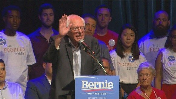 Bernie Sanders wows the crowd at Chicago fundraiser