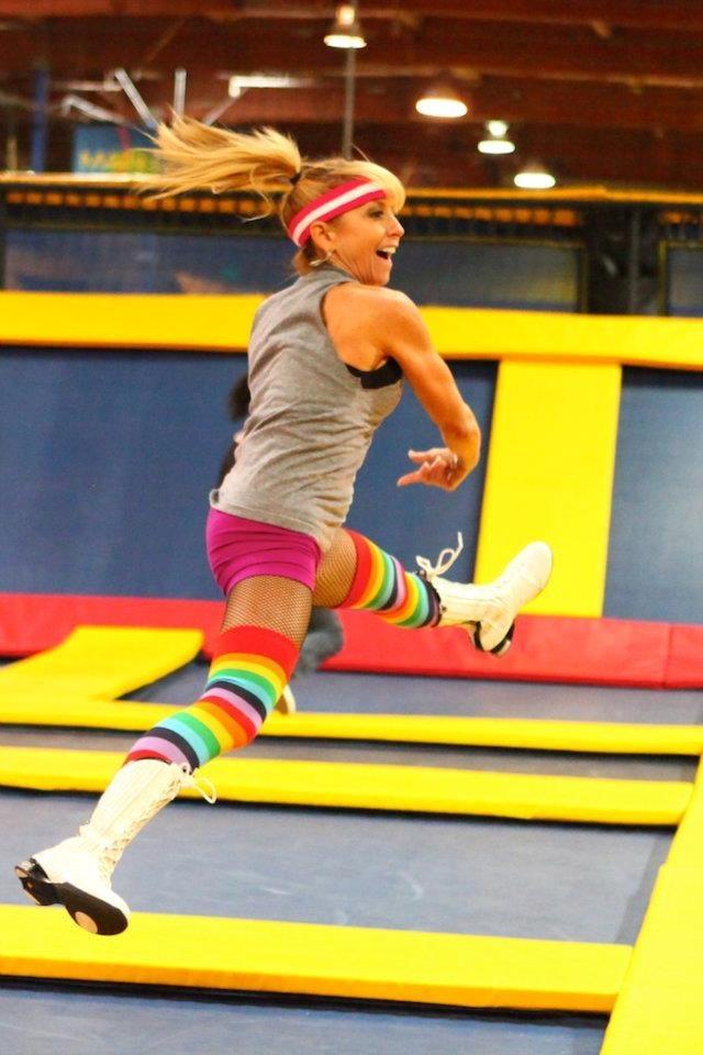 Trampoline dodge ball game | Bucket List | Pinterest