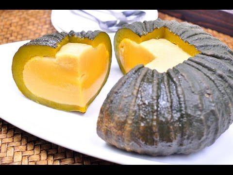 Thai Pumpkin Custard (Thai Dessert) - สังขยาฟักทอง (Sangkaya Fak Thong) [4K] Thai pumpkin custard or Sankaya Fakthong is a popular Thai dessert that is easy ...