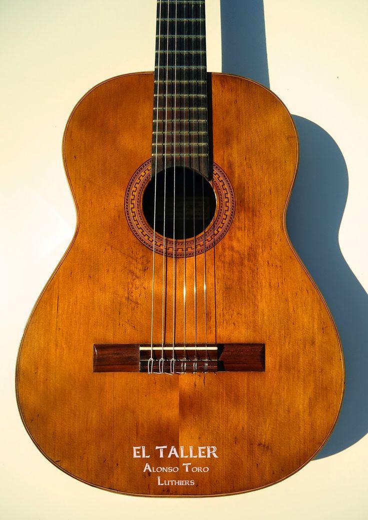 Manuel Toro Luthier: Guitarra Fernando Silva 1972