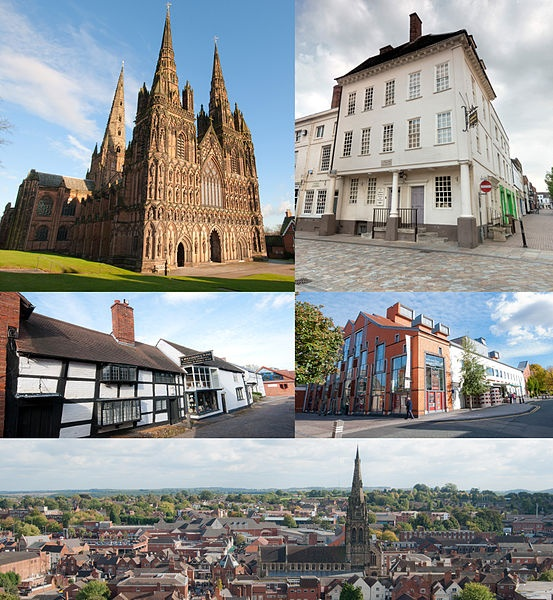 Lichfield - one of the smallest cities in England