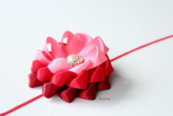 Valentines Inspired Headband / Hair Clip for Girls by PinkkBunnyy, $13.00