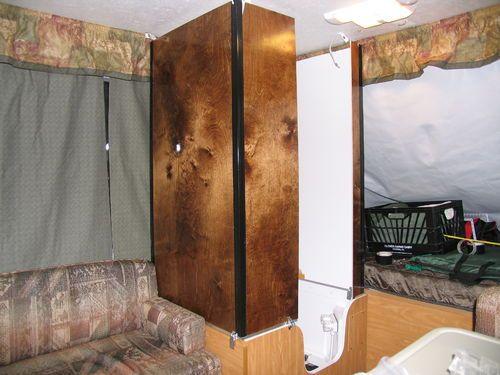 Hard walls shower in popup camper. 17 best pop up camper bathroom images on Pinterest   Camping ideas