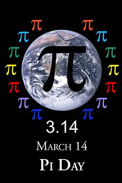 "Happy Pi Day! Fellow ""Lost"" fans please note: for today only, Pi is my constant!"