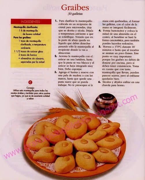 Galletas Arabes-Graibes