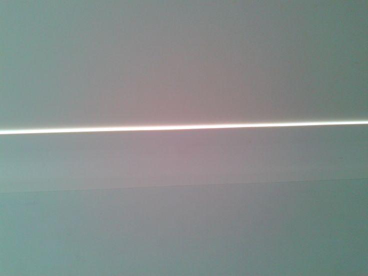 Graphic white line.